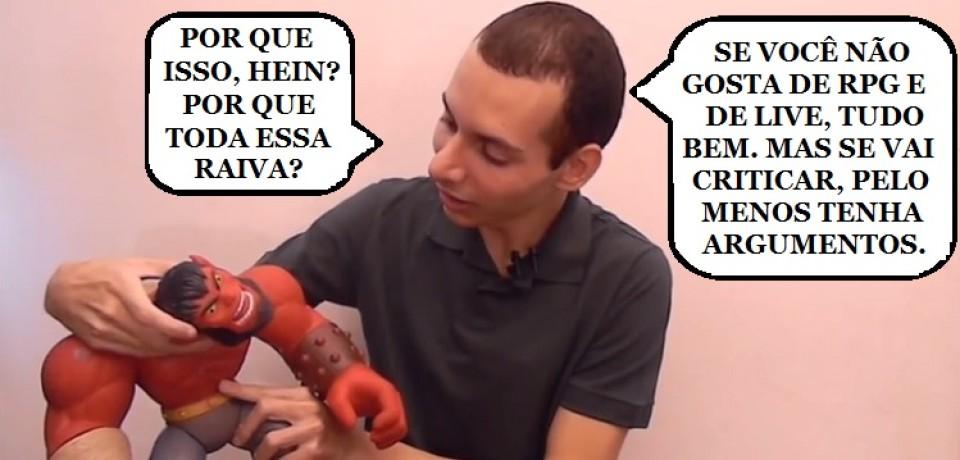 ROLEPLAY: OS DESAFIOS DO JOGADOR (PARTE 7) – FINAL – VÍDEO