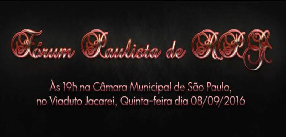 FÓRUM PAULISTA DE RPG