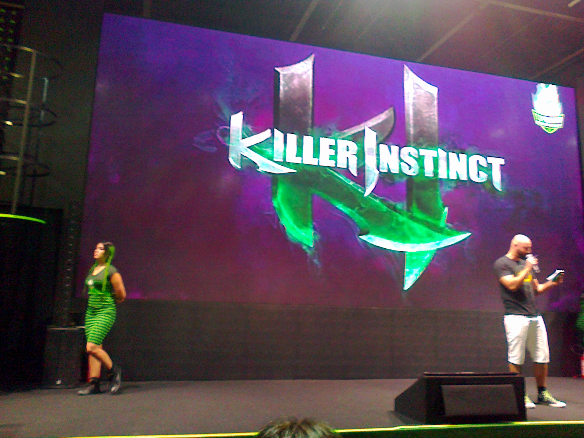 Torneio do jogo Killer Instinct.