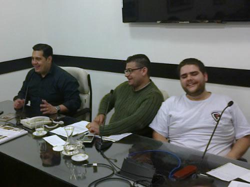 Imagem mostrando alguns dos principais participantes do Fórum Paulista de RPG.